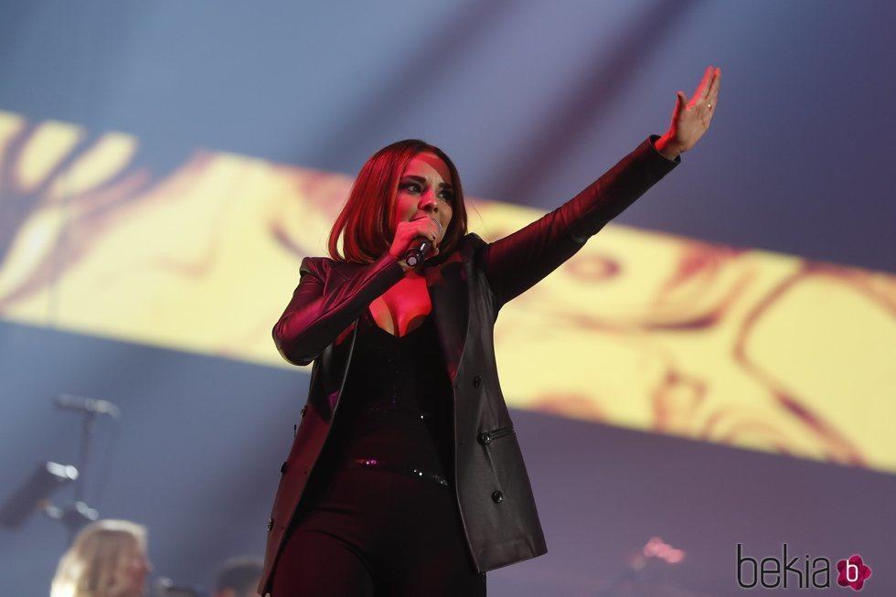 Chenoa en el concierto Vive Dial 2019