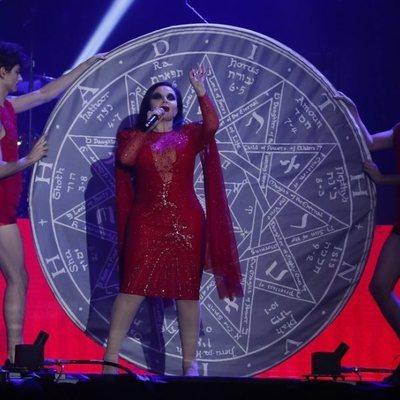 Alaska en el concierto Vive Dial 2019