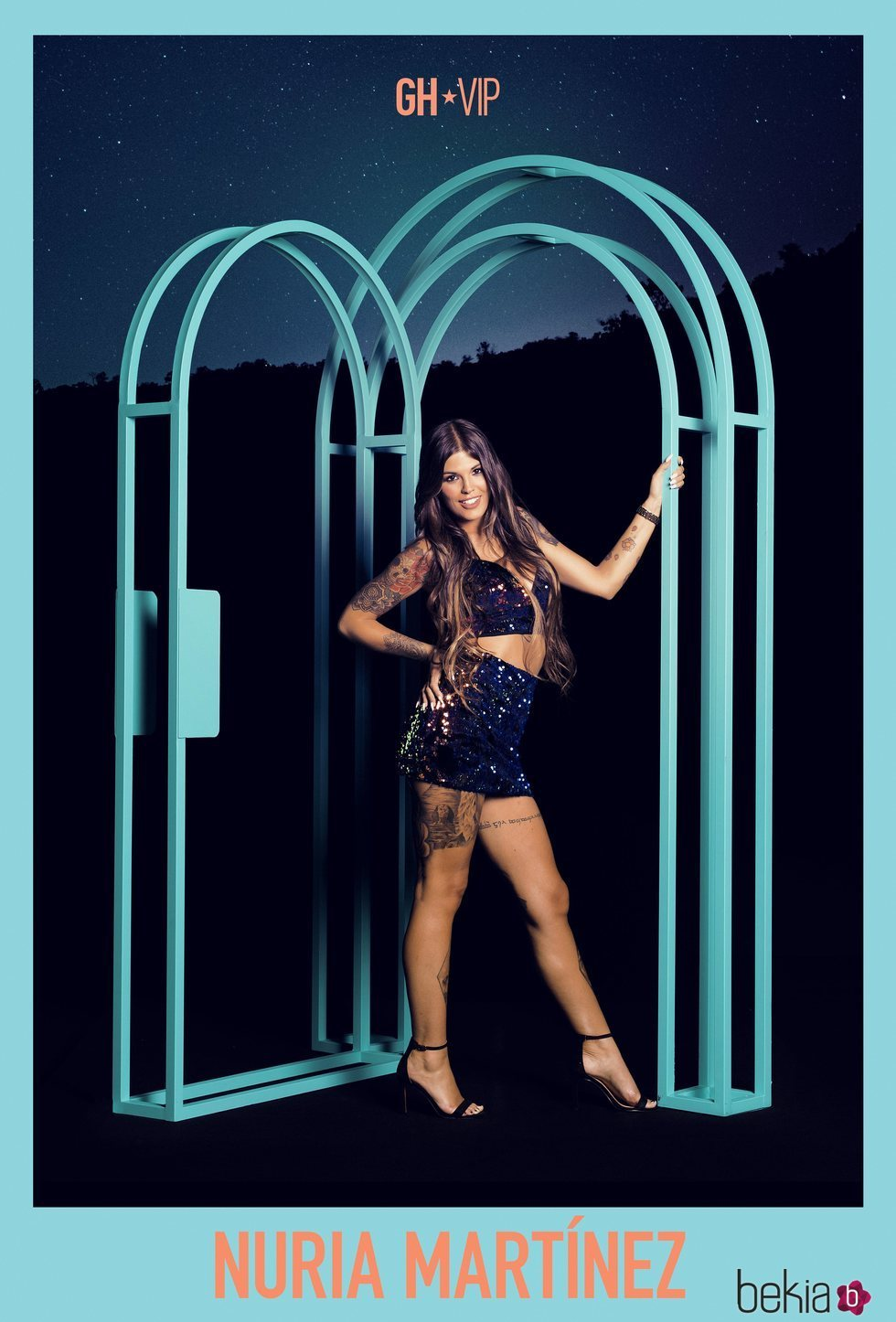 Posado oficial de Nuria Martínez como concursante de 'GH VIP 7'