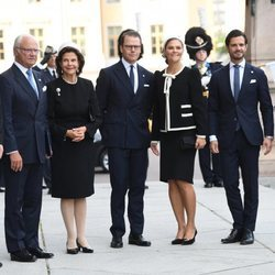 La Familia Real Sueca en la apertura del Parlamento 2019