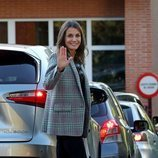 La Reina Letizia en el primer día de colegio de sus hijas del curso 2019/2020