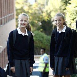 La Princesa Leonor y la Infanta Sofía en su primer día de colegio del curso 2019/2020