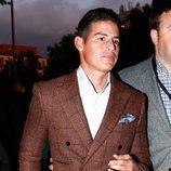 James Rodríguez en la presentación del documental 'El corazón de Sergio Ramos'