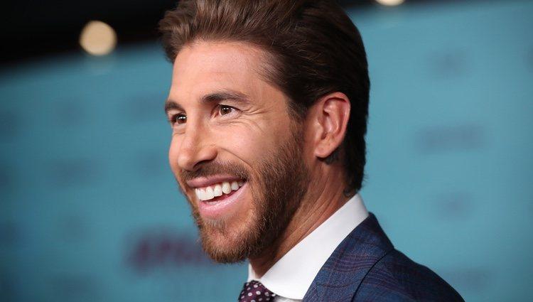 Sergio Ramos en la presentación de su documental 'El corazón de Sergio Ramos'
