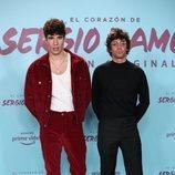 Javier Calvo y Javier Ambrossi en la presentación del documental 'El corazón de Sergio Ramos'