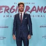 Sergio Ramos en el estreno de su documental 'El corazón de Sergio Ramos'
