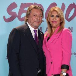 José María y Paqui, los padres de Sergio Ramos, en la presentación de su documental 'El corazón de Sergio Ramos'