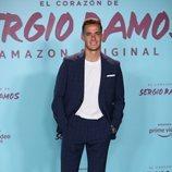 Lucas Vázquez en el estreno de su documental 'El corazón de Sergio Ramos'