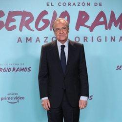Florentino Pérez en la presentación de su documental 'El corazón de Sergio Ramos'