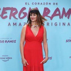 Irene Villa en la presentación de su documental 'El corazón de Sergio Ramos'