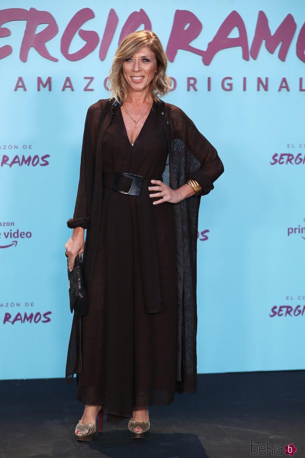 Eva Isanta en la presentación de su documental 'El corazón de Sergio Ramos'