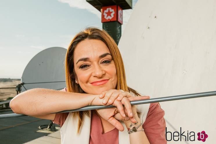 Toñi Moreno en una foto promocional de Telemadrid