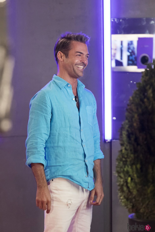 Hugo Castejón en la casa de 'GH VIP 7'
