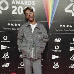 Don Patricio en la cena de los nominados de Los 40 Music Awards 2019