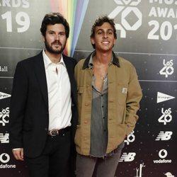 Taburete en la cena de los nominados de Los 40 Music Awards 2019