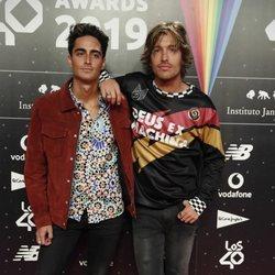 Marlon en la cena de los nominados de Los 40 Music Awards 2019