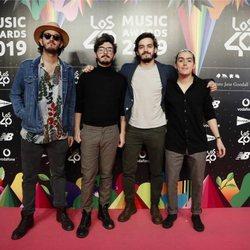 Morat en la cena de los nominados de Los 40 Music Awards 2019