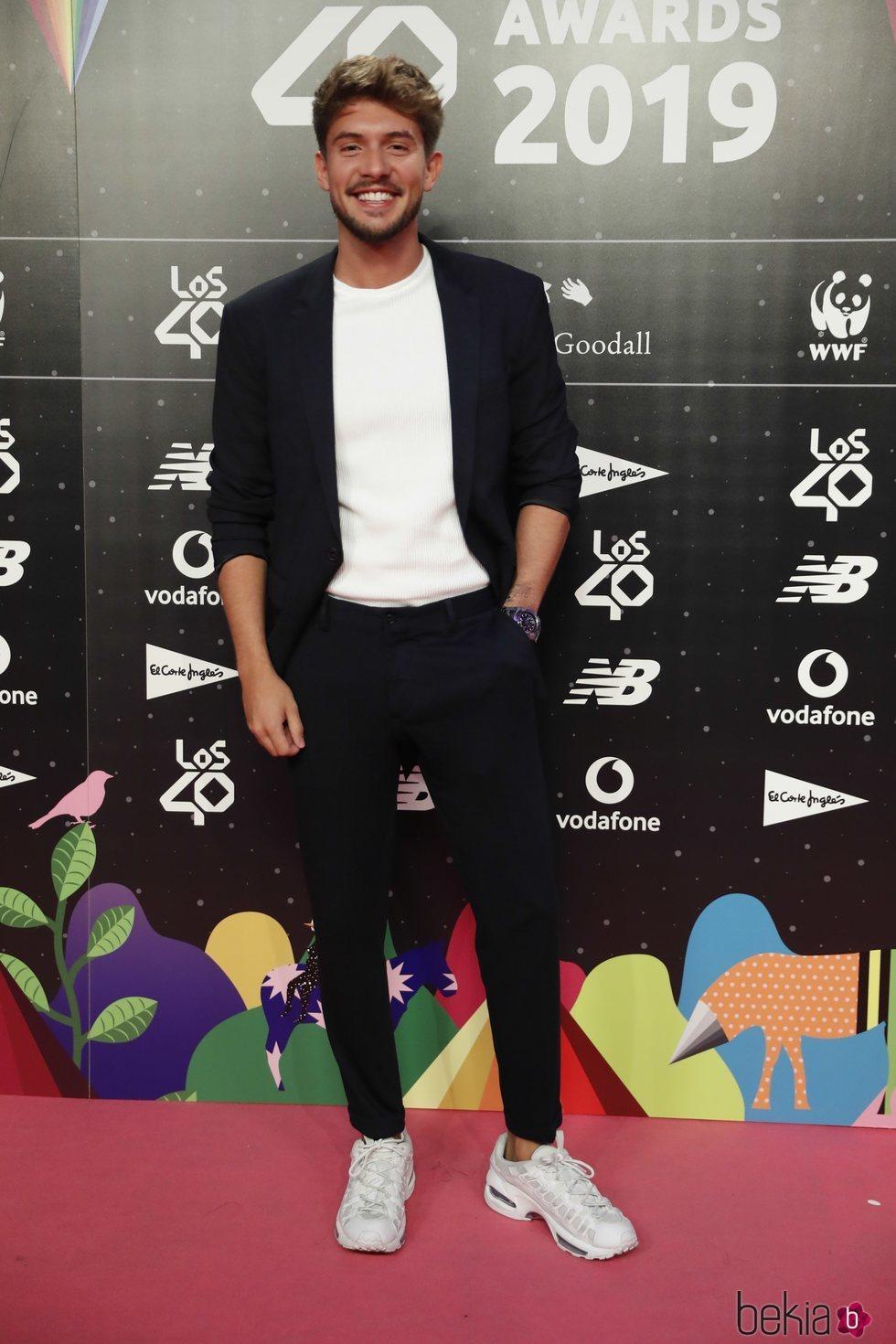 Carlos Right en la cena de los nominados de Los 40 Music Awards 2019