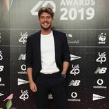 Carlos Right en la cena de los nominados de Los 40 Music Awards 2019