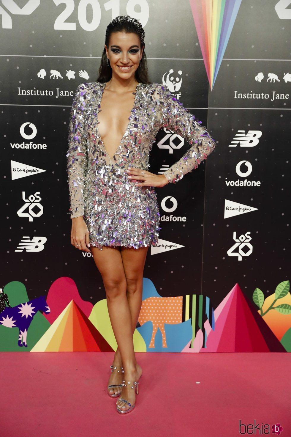 Ana Guerra en la cena de los nominados de Los 40 Music Awards 2019