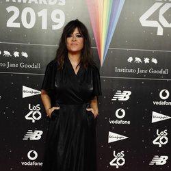Vanesa Martín en la cena de los nominados de Los 40 Music Awards 2019
