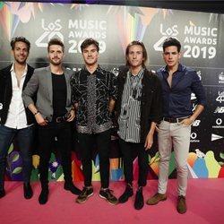 Dvicio en la cena de los nominados de Los 40 Music Awards 2019