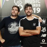 Estopa en la cena de los nominados de Los 40 Music Awards 2019