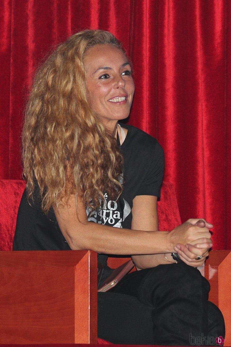 Rocío Carrasco en el espectáculo 'Qué no daría yo por ser Rocío Jurado' en Valladolid