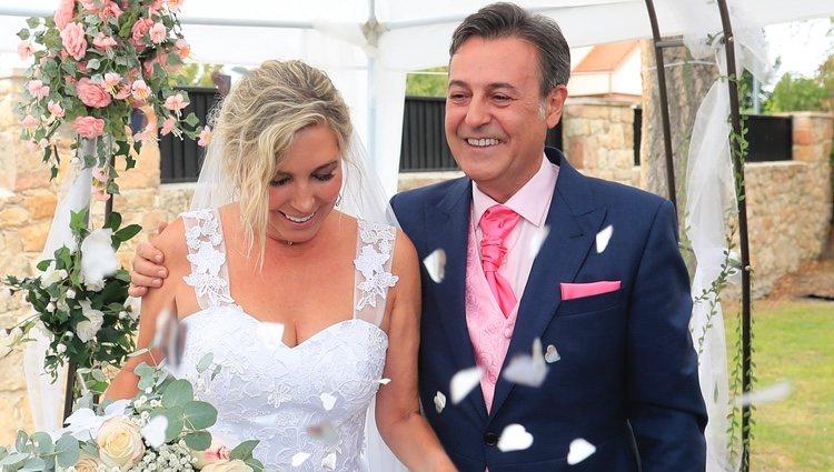 José Ribagorda se casa con Loles Silva