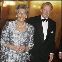 La Princesa Astrid de Noruega y Johan Martin Ferner