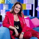 Toñi Moreno como presentadora de 'Aquellos maravillosos años'