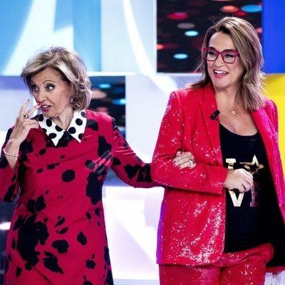 Toñi Moreno y María Teresa Campos en 'Aquellos maravillosos años'