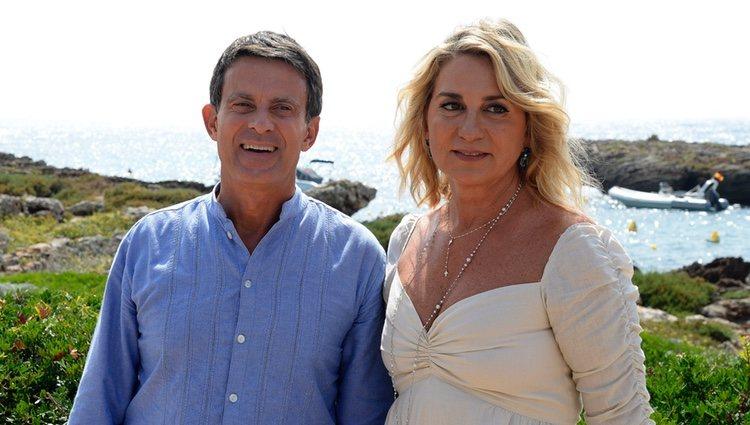 Manuel Valls y Susana Gallardo celebran su boda en Menorca