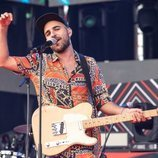 Nil Moliner en el escenario del Coca Cola Music Experience