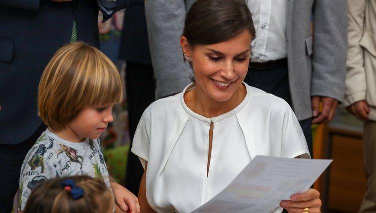 La Reina Letizia en la inauguración del curso escolar en Cáceres
