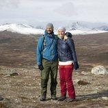 Haakon y Mette-Marit de Noruega en Hjerkinn