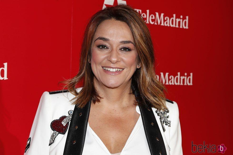 Toñi Moreno en la presentación de la temporada 2019/2020 de Telemadrid