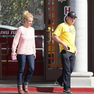 Jamie Spears y Britney Spears juntos