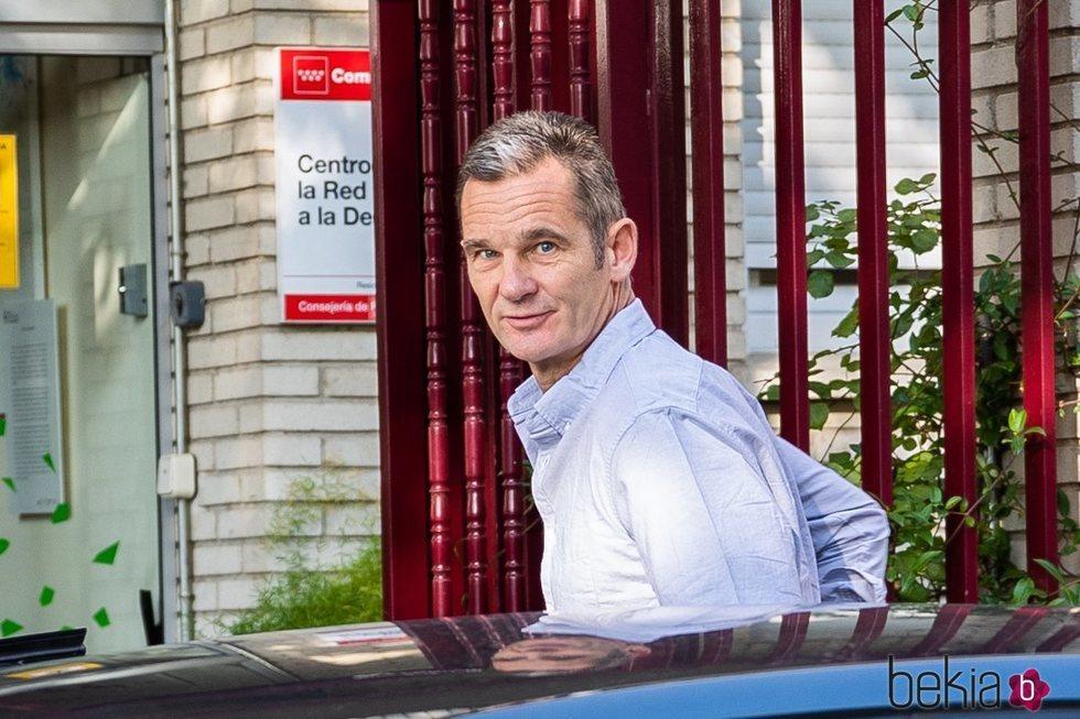 Primera imagen de Iñaki Urdangarin tras su ingreso en prisión