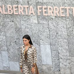 Georgina Rodríguez en el desfile de Alberta Ferretti
