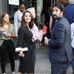 Inés Arrimadas y Xavier Cima en la inauguración de la temporada 2019/2020 del Teatro Real