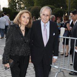 Jaime Peñafiel y Carmen Alonso en la inauguración de la temporada 2019/2020 del Teatro Real