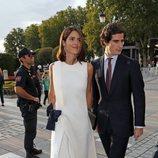 Fernando Fitz-James Stuart y Sofía Palazuelo en la inauguración de la temporada 2019/2020 del Teatro Real