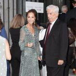 Isabel Preysler y Mario Vargas Llosa en la inauguración de la temporada 2019/2020 del Teatro Real
