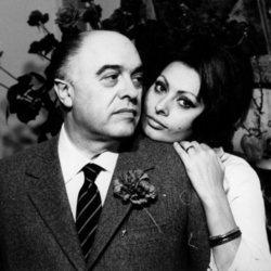 Sophia Loren y su marido, Carlo Ponti