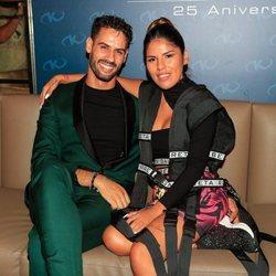 Chabelita Pantoja y Asraf Beno en la fiesta de presentación del single 'Ahora estoy mejor'