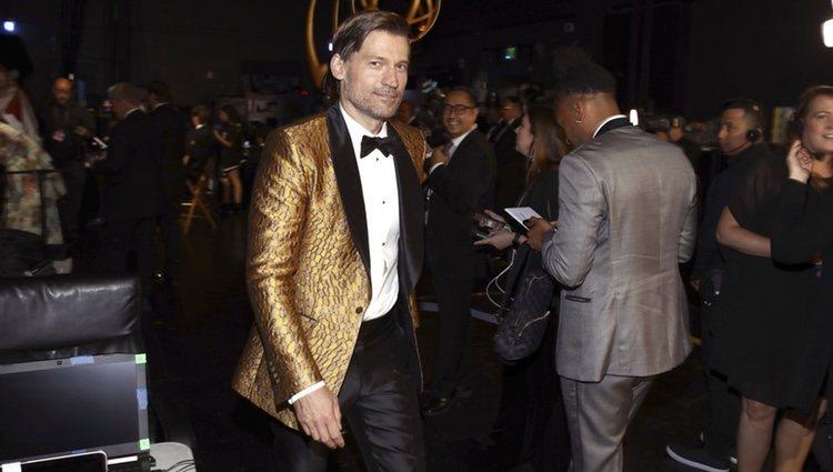 Nikolaj Coster-Waldau en los Emmy 2019