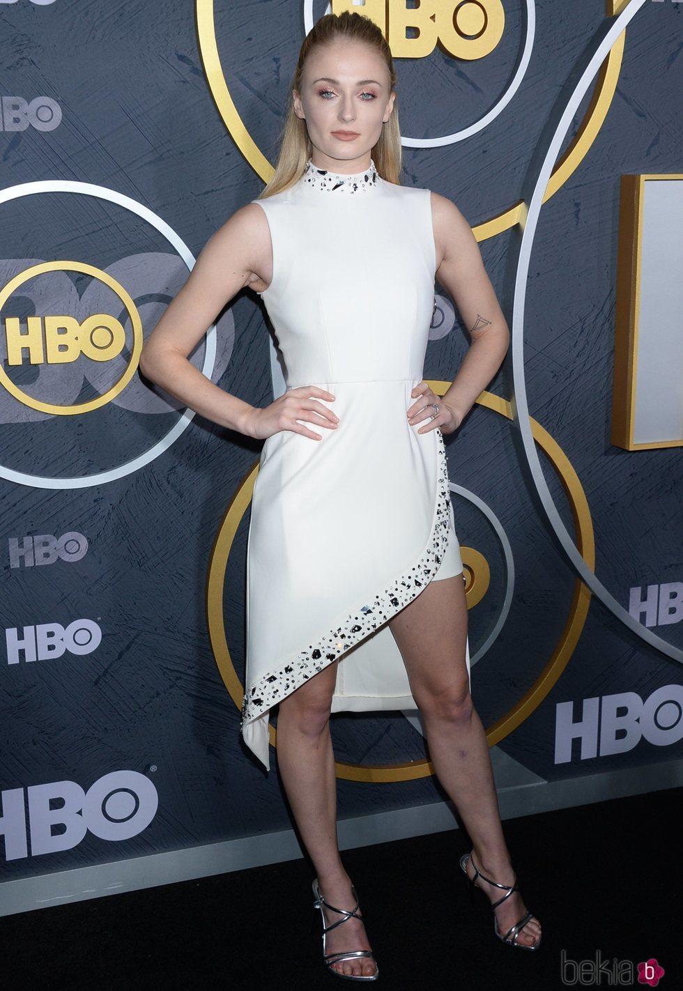 Sophie Turner en la fiesta de los Premios Emmy 2019