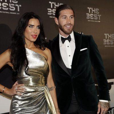 Pilar Rubio y Sergio Ramos en la gala de los Premios The Best 2019