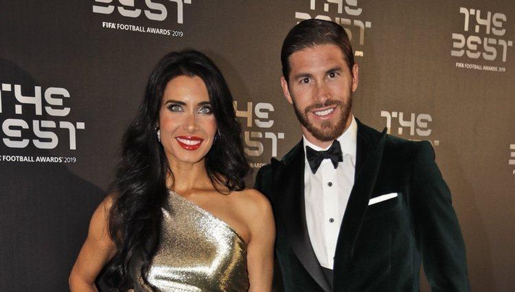 Pilar Rubio y Sergio Ramos, espectaculares en la gala de los Premios The Best 2019